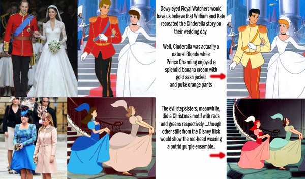 Those Cinderella Royal Wedding Pictures Were Photoshopped