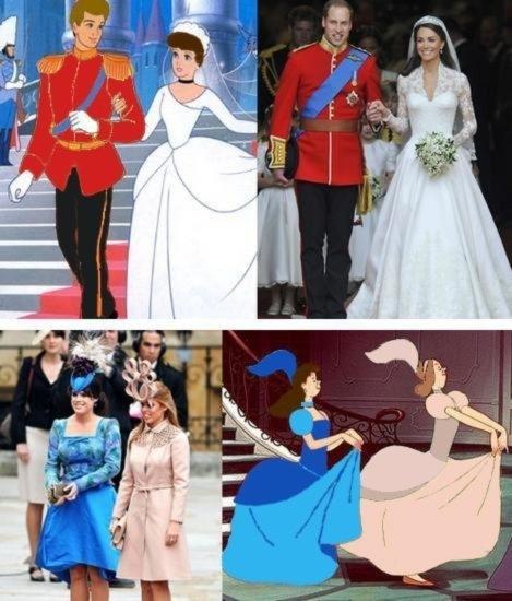 The Royal Wedding - Designed by Disney?