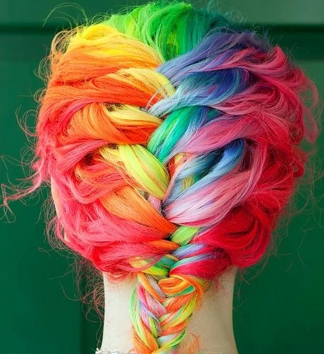 Gorgeous Rainbow Hair