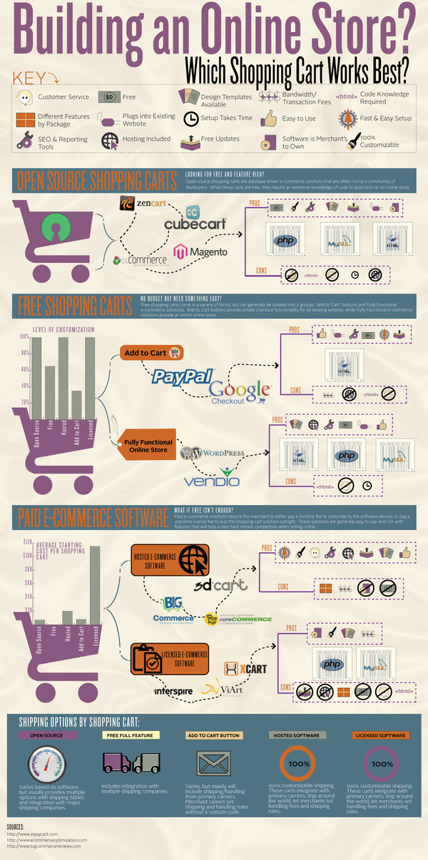 Building an Online Store? Whats the Best Option for You? [infographic]