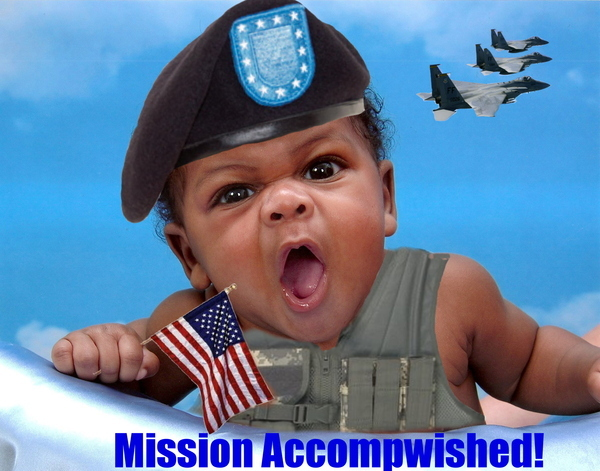 Mission Accompwished!