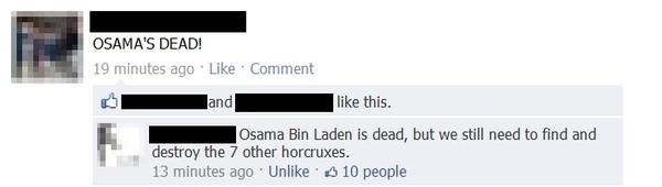 Osama's Dead, But...