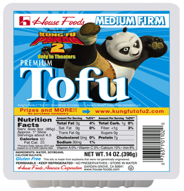Kung-Fu Panda The First Movie To Advertise On  Tofu