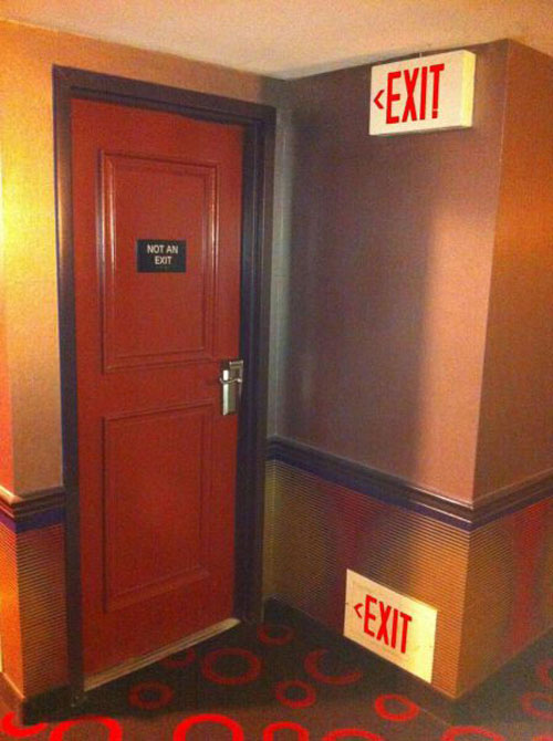 This Is Not An Exit
