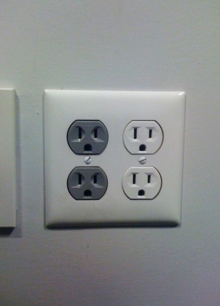 Angry Outlet Scares Its Neighbors