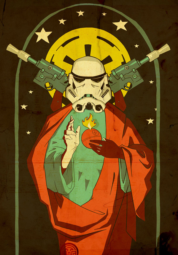 Star Wars | Stained Glass Empire