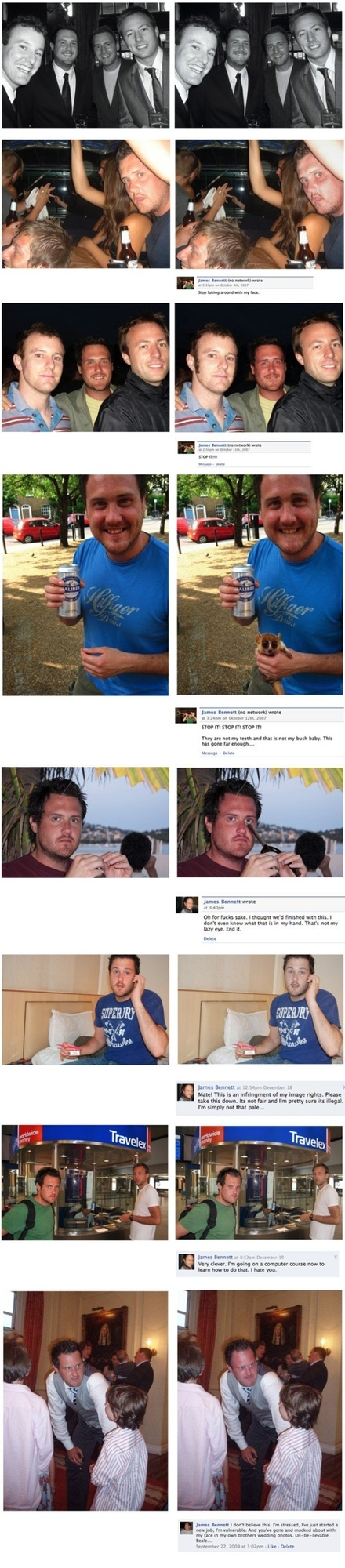 Man Gets Face Messed With On Facebook By Troll