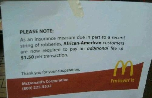 I Think This May Increase the Odds of Being Robbed