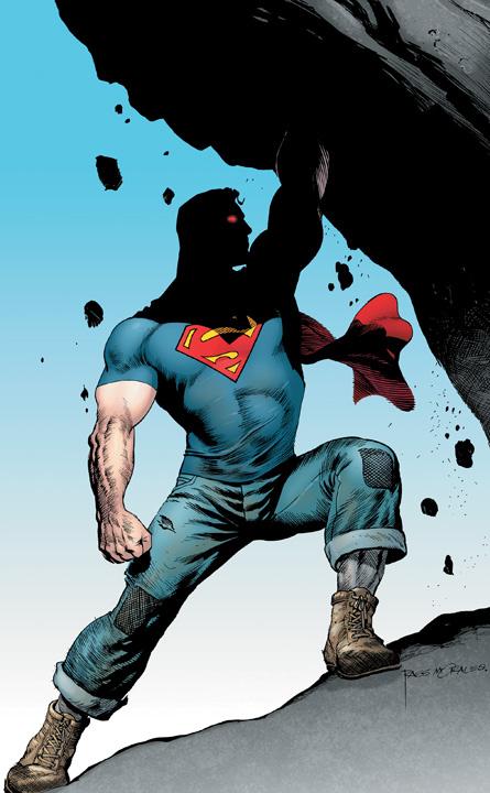 Superman Wearing Jeans
