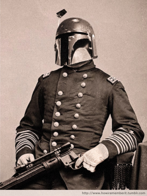 Boba Fett As A Civil War General