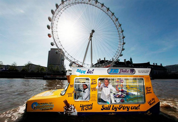 World's First Amphibious Ice Cream Truck