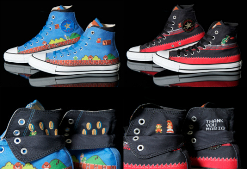 All New Mario X Converse Chuck Taylor Sneakers
