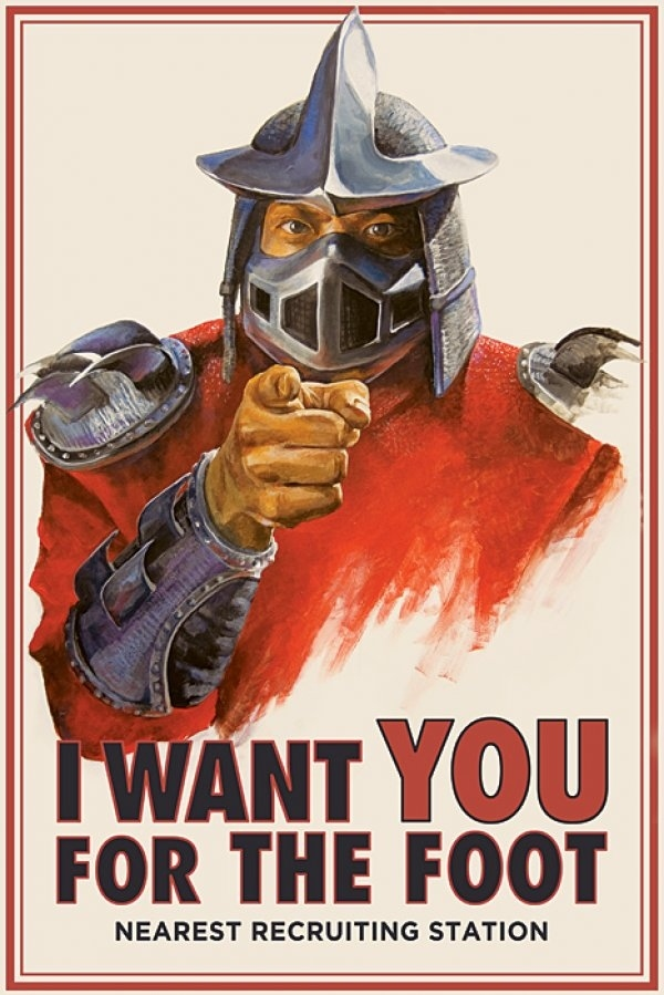 TMNT Foot Clan Recruiting Poster