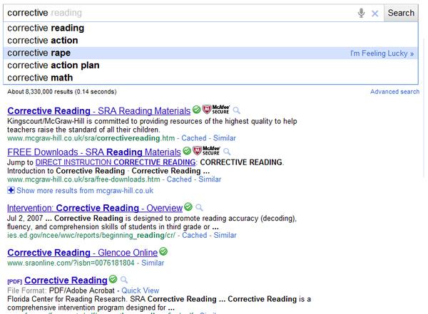 WTF Google Search?