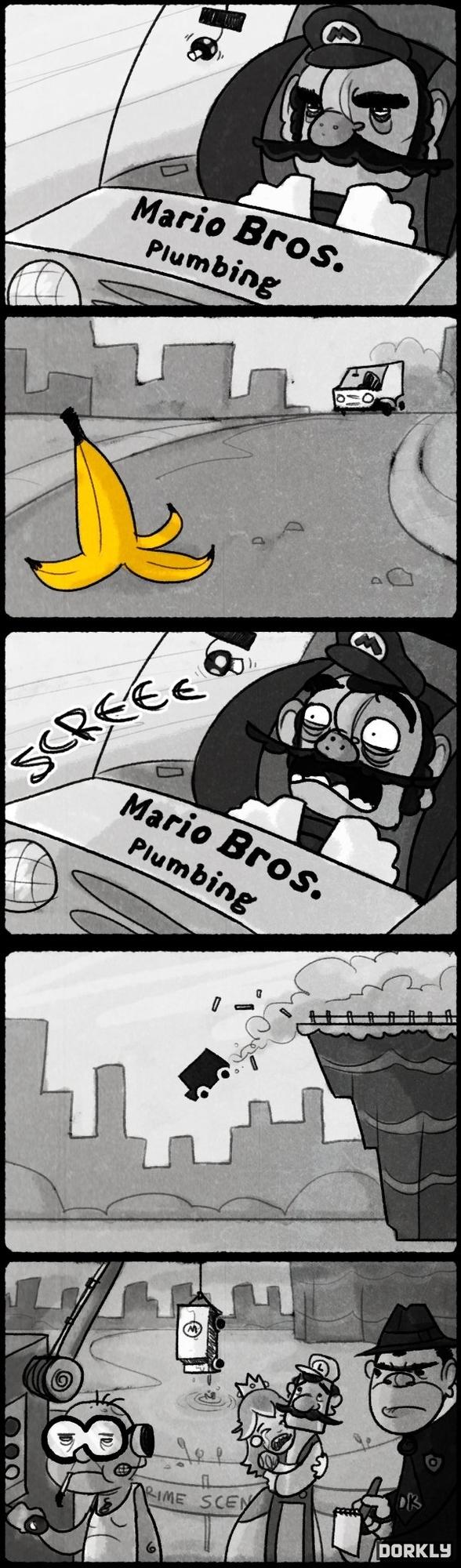 Mario Kart Noir