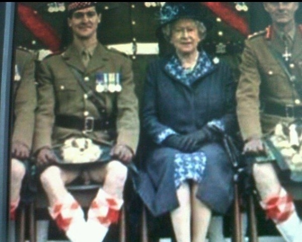 The Queen, A Penis, and a Kilt (NSFW)