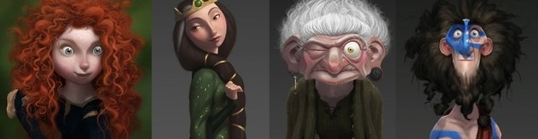 Pixar's Brave - Official Character Art Released