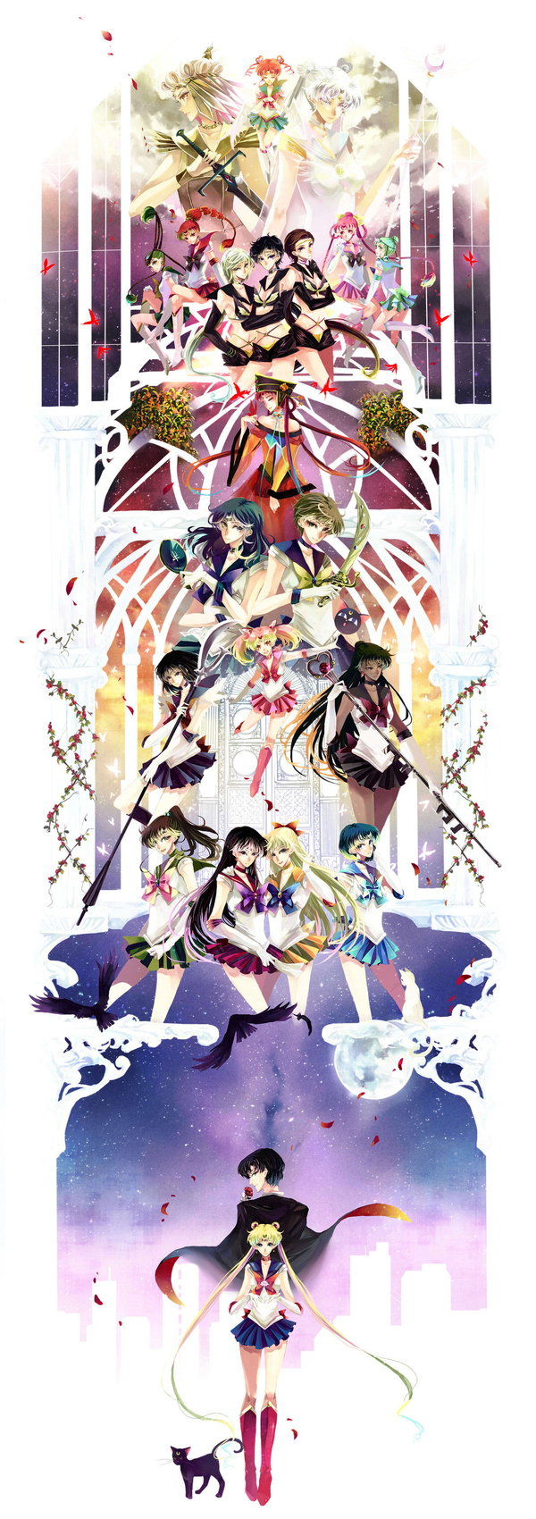 Super Pretty (And Very Large) Sailor Moon Art