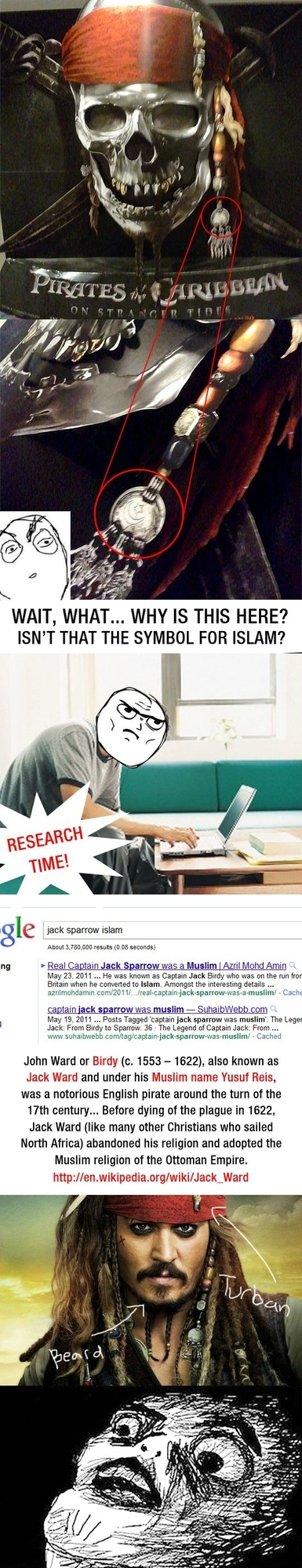Captain Jack Sparrow Was A Muslim