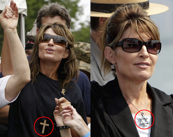 Sarah Palin: Different Day Different Religion