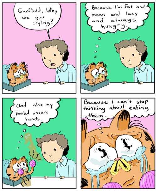 The Weirdest Take On Garfield Comics
