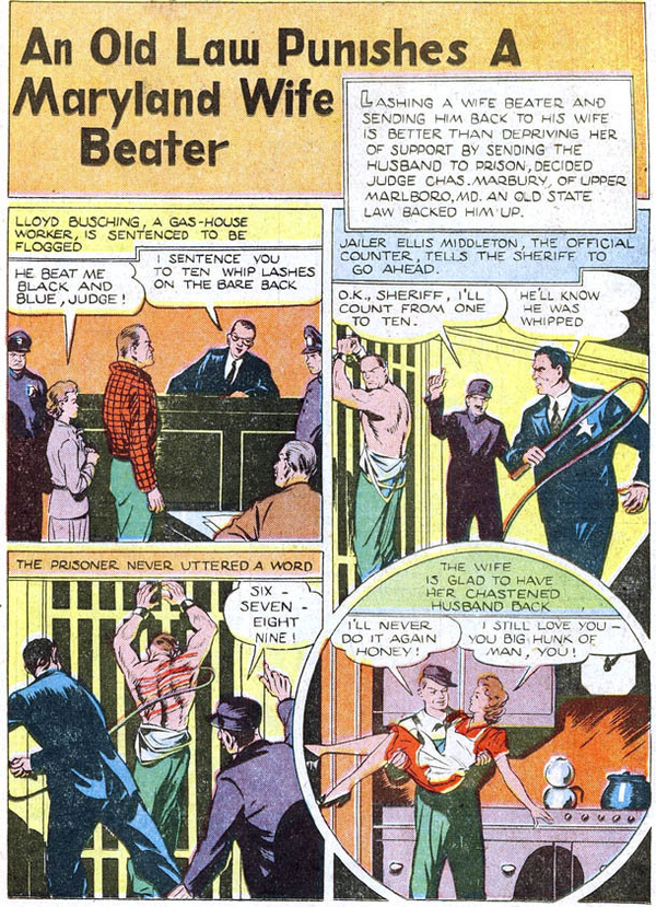 How Domestic Abuse Was Solved In The '40s