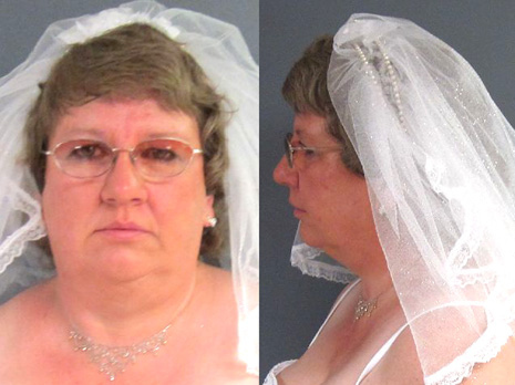 Tammy Lee Hinton's Wedding Day Mugshot