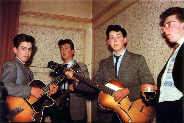 The Beatles, 1957, Pimples Intact