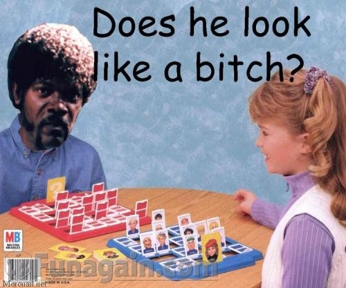 Samuel L. Jackson Plays Guess Who