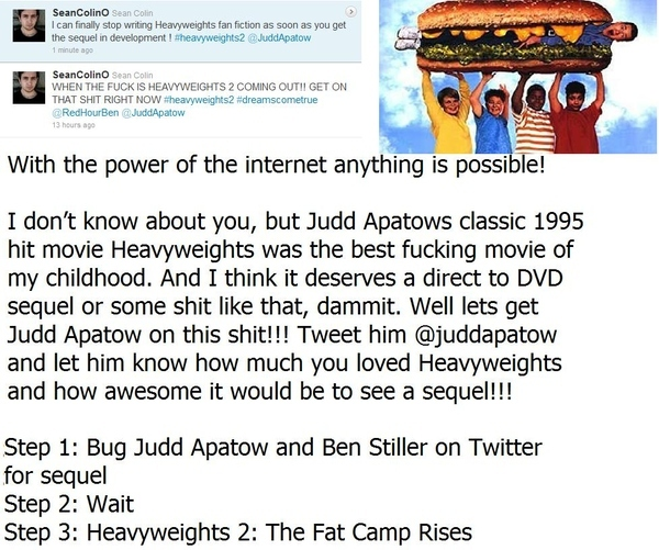 Internet Campaign for Heavyweights 2