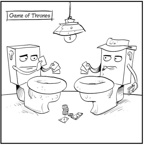 Game of Thrones -- Literally
