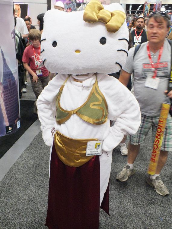 Hello Kitty Slave Leia