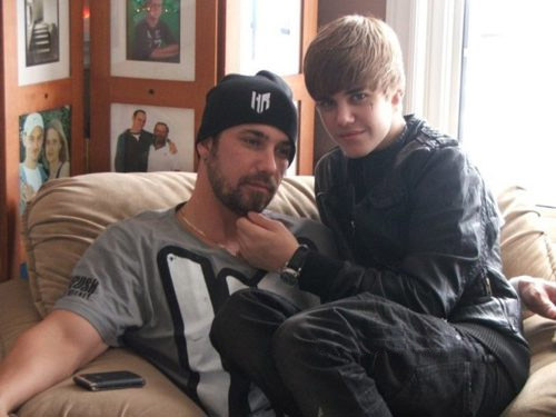 Justin Bieber is Daddy's Girl