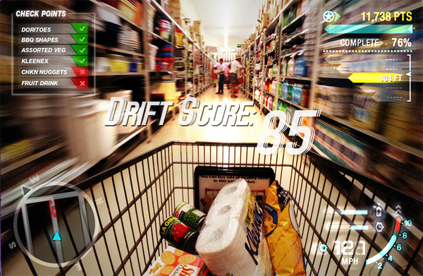 How A Gamer Shops For Groceries