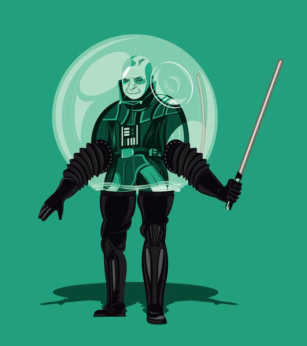 Bubble Boy Vader