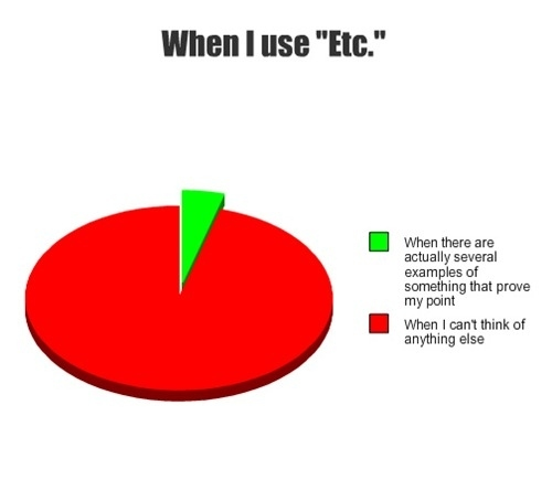 """When To Use """"Etc."""""""