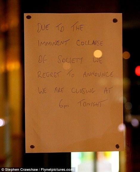 Keep Calm, English Shopkeepers