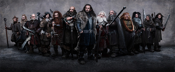 'The Hobbit' Dwarves Group Photo Revealed
