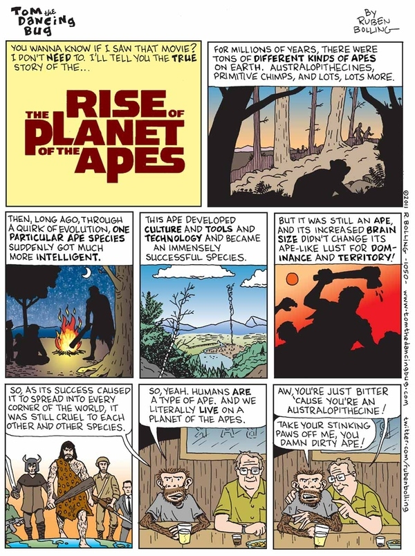 Rise Of The Planet Of The Apes: The IRL Comic