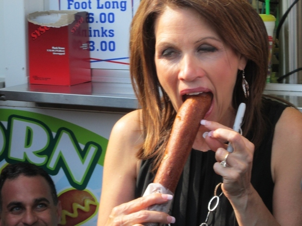 Michelle Bachmann Earns a Vote from One Guy