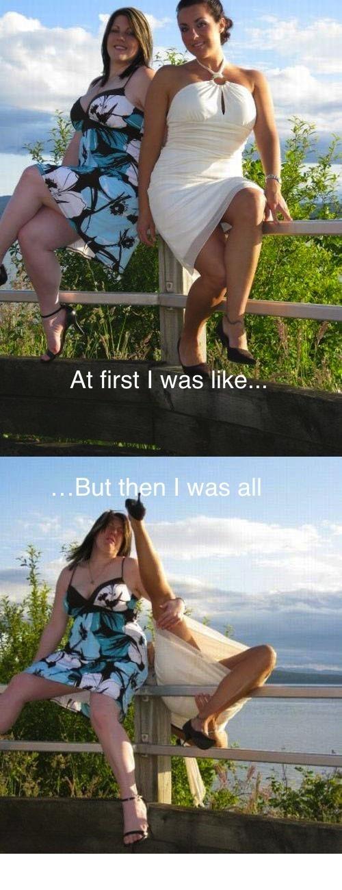 First I Was Like...