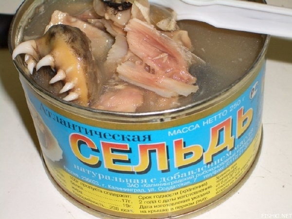 In Russia Canned Food Eats You!