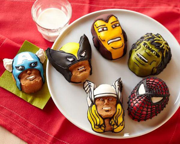 Marvel Heroes Cakelets