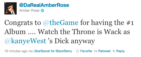 Amber Rose Roasted Kanye West?