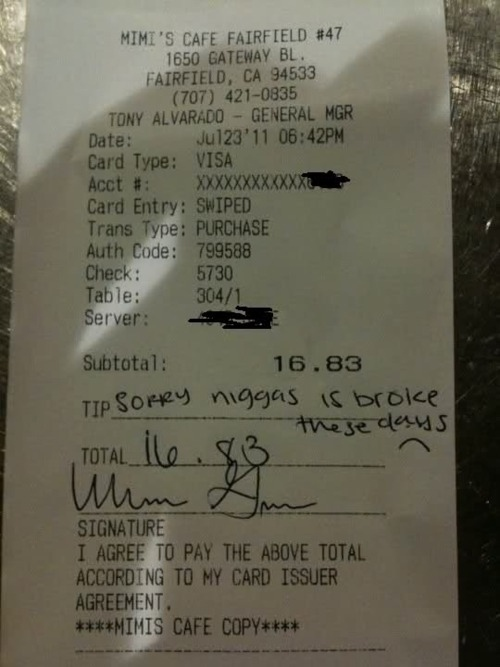 Worst Tip Ever