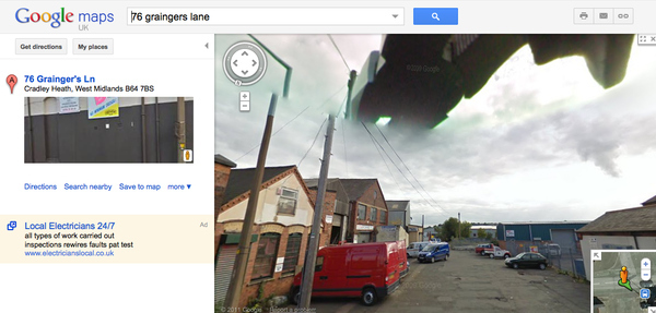 Alien Ship Spotted On Google Maps