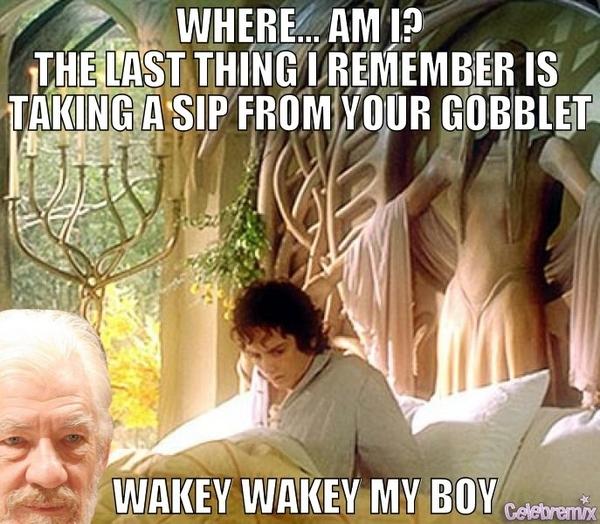 Wakey Wakey My Boy...
