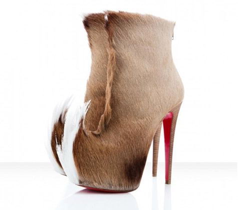 "Christian Louboutin's ""Puck Boots"""
