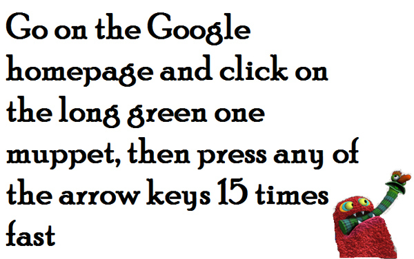 Cute Jim Henson Google Hack