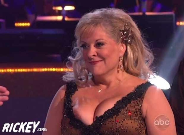 Nancy Grace Nip Slip (Not Safe For Life)